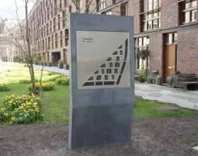 Bewegwijzering panelen Amsterdam