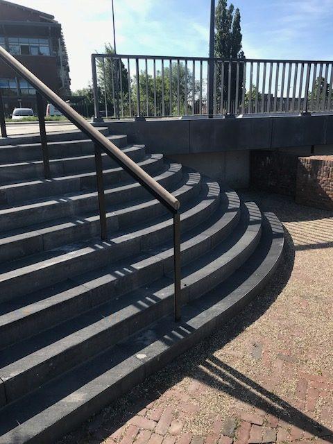 betonnen trappen - ravelijn den bosch