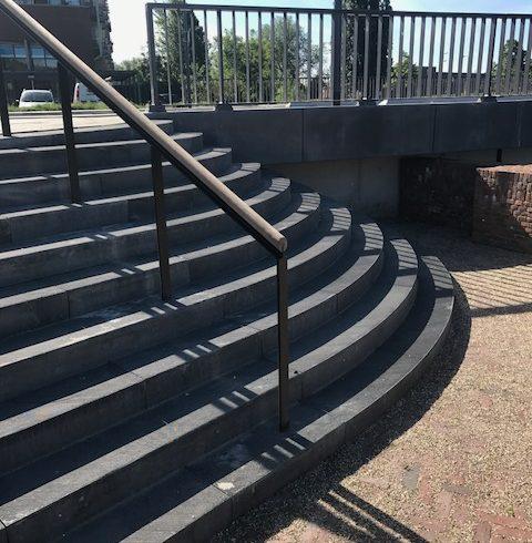 Betonnen trappen - Ravelijn Den Bosch 2